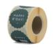 Sticker Happy B-day green_