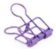 Binder clips medium purple_