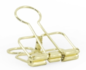 Binder clips medium gold_