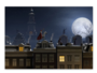 Ansichtkaart Sint in de nacht_