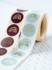 Sticker Regenboog mint grey_
