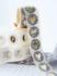 Sticker Leopard with golden heart_
