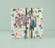 Cadeaulabel Jungle zebra_